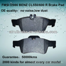 D986 OE QUALITY low metal тормозной диск для BENZ CL / E / SL / S