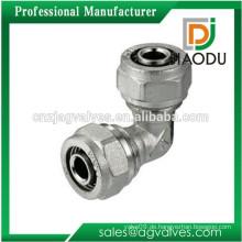 Ellenbogen Messing Kompressionsbeschläge für Pex Al Pex Rohr