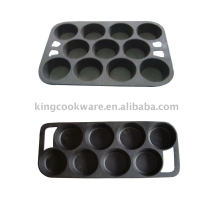 3 plaques de cuisson en fonte