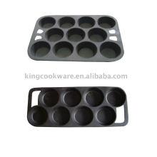 3 assadeira de ferro fundido / Bakeware de ferro fundido