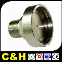 ISO9001 ЧПУ Точная обработка токарных / фрезерных алюминиевых деталей