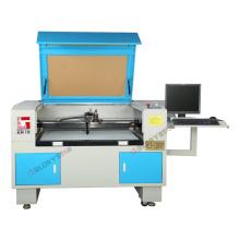 Machine de découpe au laser Glorystar CO2 avec caméra pour broderie et étiquette (GLS-1280V)