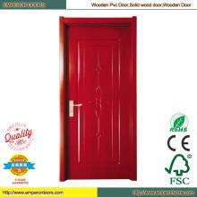 Puerta de madera de la puerta principal puertas de pintura