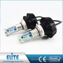 G7 9005 9006 9012 4000LM DC12V 24 V NO Fan Super Lumineux Led Voiture Phare Auto Pièces Système Conversion Kits Usine Chaude Ventes