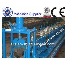 Redonda ou quadrada sarjeta & rolo de canal de água equipamentos de conformação