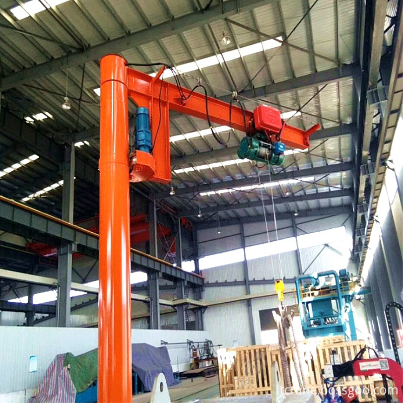 180 rotation crane