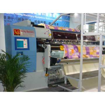 Computerized Multi-Function Multi-Needle Non-Shuttle Chain Stith Quilting Machine