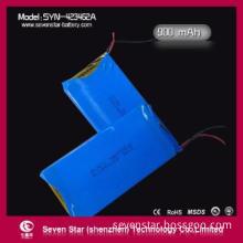Hot Sales Long Life Lithium Polymer Battery 3.7V 423462 900mAh