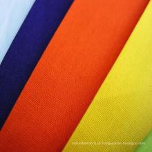 Tecido de popeline stretch resistente à lavagem para camisa feminina com boa coloração