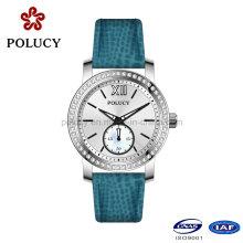 Machen Sie eigene hochwertige Edelstahl Frauen Armbanduhren
