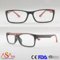 Modedesigner Optischer Rahmen Doppeltinjektion Reading Eyewear / Brille / Brille (14176)