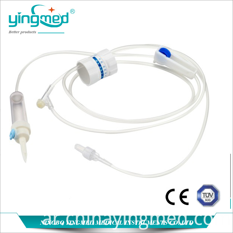 Medical Disposable Infusion Set With Regulator