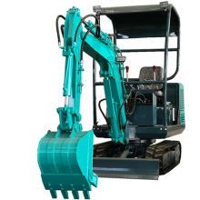Entrega rápida utilizada mini máquina excavadora de cubo