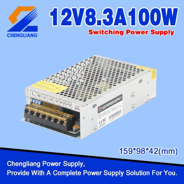 AC DC 12V 100W LED Power Supply
