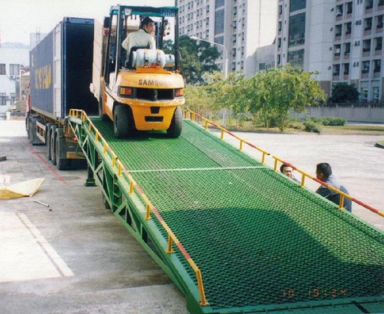 Yard Ramp Mobile Hydraulic Dock Leveler