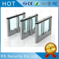 Speed ​​Glass Lane Flap Barrier Gate Turnstile