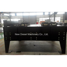 Radiador remoto horizontal de aluminio de cobre diesel con intercambiador de calor