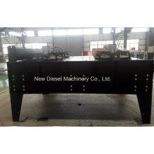 Diesel Cobre Alumínio horizontal Radiador remoto com permutador de calor