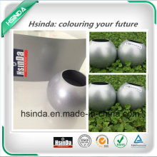 Прозрачное порошковое покрытие для горячего сбывания High Gloss Metallic Shiny Silver