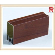 Perfis de extrusão de alumínio / alumínio para superfícies de madeira