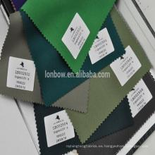 China Proveedor de alta calidad de colores 98% lana / 2% Lyca tela para el vestido