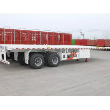 40ft 2 axles flatbed container semi-trailer