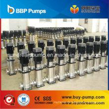 Zentrifugal Tauchpumpe mit Edelstahl Vertikale Mehrstufige Pumpe