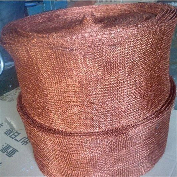 high quality copper knitted wire mesh