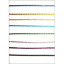 cuerda metálica para ornamentos etiqueta