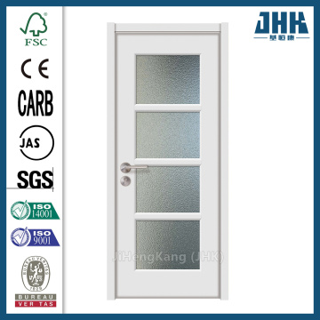 JHK Kerala Style Bedroom Leaded Glass Doors