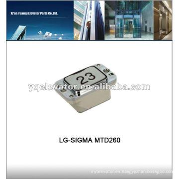 Botón para ascensor LG-SIGMA MTD260