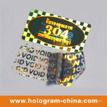 Sicherheit Anti-Fake Void Hologramm Label