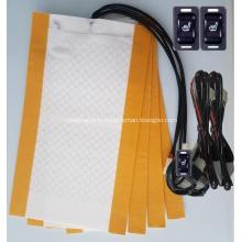 rectangle carbon fibre car seat heating