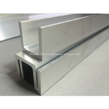 Canal de Perfil de aluminio U que vario tamaño