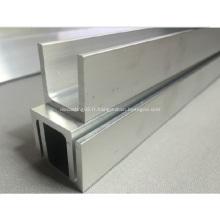 U en aluminium profil canal que divers taille