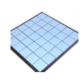 china factory Solid color glazed blue ceramic mosaic tiles design
