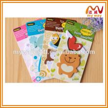 2016 fofos artigos de papelaria da escola de notas pegajosas do urso, design para crianças