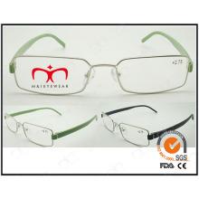 Heiße verkaufende bunte Tr90 Tempel Metall optische Rahmen (WRM503025)