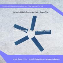 suministro de carbón activado Filtro de catalizador frío