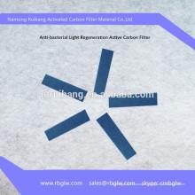filtre à poussière filtre à charbon actif filtre à photocatalyseur