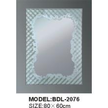 Толщина 5mm Серебряное стеклянное зеркало ванной комнаты (БДЛ-2076)
