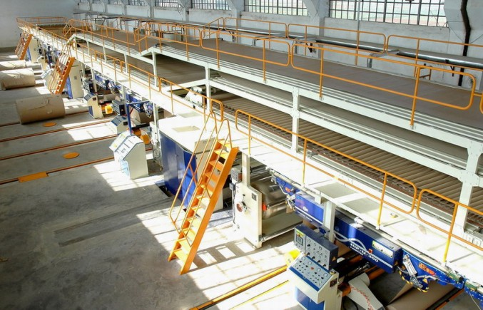 The Over Bridge Conveyers carton machine