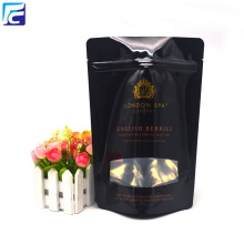 Customized for T-Shirt Packaging Plastic Bag Body Scrub Packaging Sea Salt Pouch Bag export to France Importers