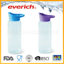 Cheap Plastic Bottles Suppliers With Straw Lid Easy Drinking