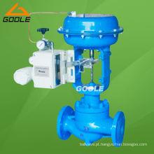 Válvula de regulagem de pressão pneumática de assento ajustável Sigle Sigle (ZJHP)