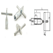 Precast Concrete Fixing Sockets with Cross Pin (THREADED LIFTING SYSTEM)