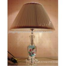 2016 buena calidad moderna lámpara de mesa de cristal