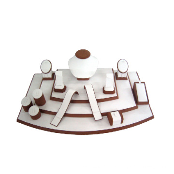 Coating Wooden Jewelry Display Countertop Wholesale (WST-WL-T009)