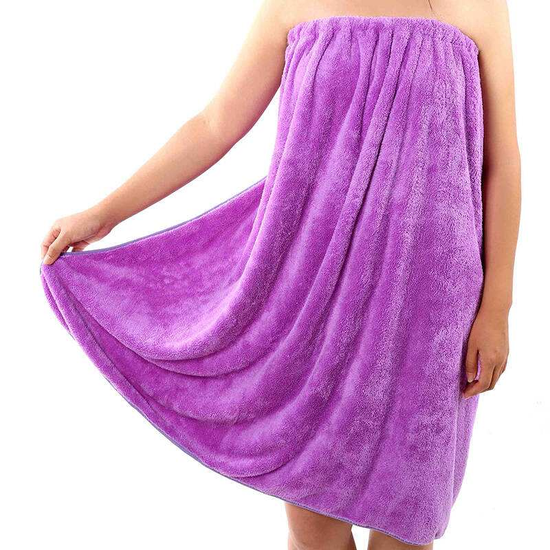 Plush Bathrobe For Women