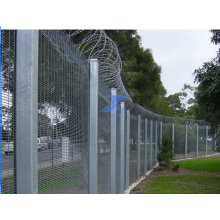 358 with Razor Wire Prison Fencing for High Security (TS-E51)